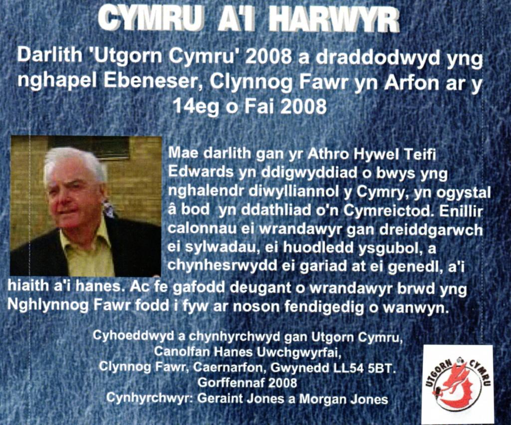 Cymru a'i Harwyr